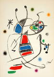 Maravillas 1060 Collectable Print by Joan Miró