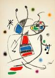 Maravillas 1060 Collectable Print by Joan Miró