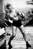 Jack Dempsey Boxing Pose Sports Poster Photo