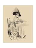 The Rendez-Vous Prints by Charles Dana Gibson