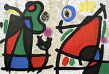 Derrier le Miroir, no. 186, pg 2,7 Collectable Print by Joan Miró
