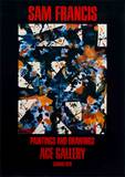 Paintings and Drawings Collectable Print by Sam Francis