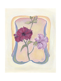 Deco Florals IV Poster by Judy Mastrangelo