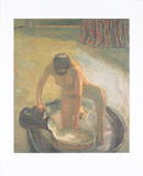 Le Bain Collectable Print by Pierre Bonnard