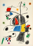 Maravillas 1069 Collectable Print by Joan Miró