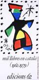 Mil Llibres En Catala Collectable Print by Joan Miró