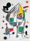 Maravillas 1072 Collectable Print by Joan Miró