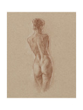 Standing Figure Study II Reprodukcje autor Ethan Harper