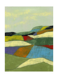 Patchwork Fields II Poster by Jennifer Goldberger