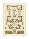 Gartenlabyrinth III Poster von  Blondel