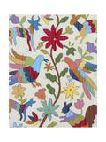 Otomi Embroidery I Affiches par Chariklia Zarris