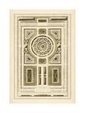 Gartenlabyrinth V Poster von Jacques-francois Blondel
