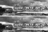 2-Up Skyscape City Panorama Photographic Print by Nish Nalbandian