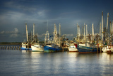 Ua Ch Shrimp Boats I Photographic Print by Danny Head