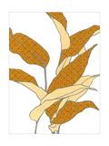 Modern Foliage II Posters by Erica J. Vess
