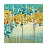 Erica J. Vess - Forest Mosaic I Plakát