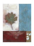 Painterly Leaf Collage II Posters by W. Green-Aldridge