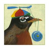 You Silly Bird - Chandler Print by Dlynn Roll