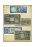 Antique Currency III Prints by  Vision Studio
