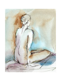 Watercolor Gesture Study I Art by Ethan Harper