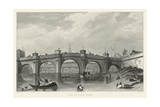 Vue Du Pont Neuf Art by A. Pugin