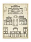 Vision Studio - Vintage Architect's Plan I - Poster