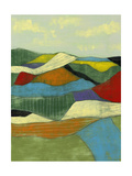 Patchwork Fields I Prints by Jennifer Goldberger