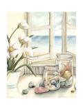 Beach House View I Affiche par Megan Meagher