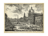 Piranesi - Veduta Di Piazza Navona Reprodukce