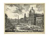 Piranesi - Veduta Di Piazza Navona - Art Print