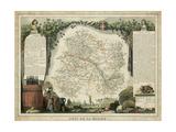 Atlas Nationale Illustre IV Posters by Victor Levasseur