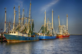 Ua Ch Shrimp Boats III Photographic Print by Danny Head