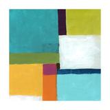 Erica J. Vess - City Square IV Reprodukce na plátně