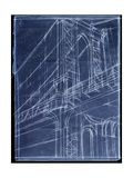 Bridge Blueprint I Prints by Ethan Harper