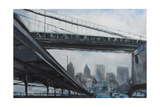 To the City Print by Curt Crain