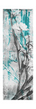 Ghost Print Floral I Art by Jennifer Goldberger