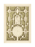 Garden Maze I Kunstdruck von Jacques-francois Blondel
