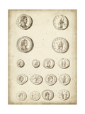 Antique Roman Coins II Posters