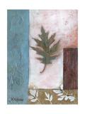 Painterly Leaf Collage I Prints by W. Green-Aldridge