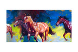 Running Wild Print by Julie Chapman