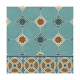 Moroccan Tile IV Art by Erica J. Vess