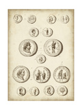 Antique Roman Coins III Prints