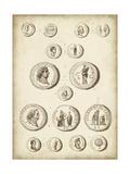 Antique Roman Coins III Prints