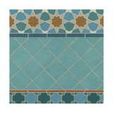 Moroccan Tile I Posters by Erica J. Vess