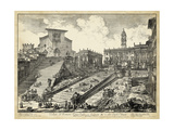 Veduta Del Romano Campidoglio Reprodukcje autor Piranesi