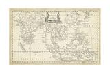 Map of East Indies Posters af T. Jeffreys