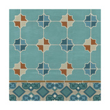Moroccan Tile III Giclée-Premiumdruck von Erica J. Vess