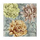 Flower Fetti II Print by Jennifer Goldberger