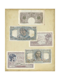 Antique Currency II Prints by  Vision Studio