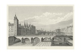 Pont Au Change Prints by A. Pugin